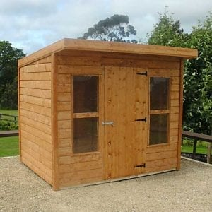 Pent Timber Shed