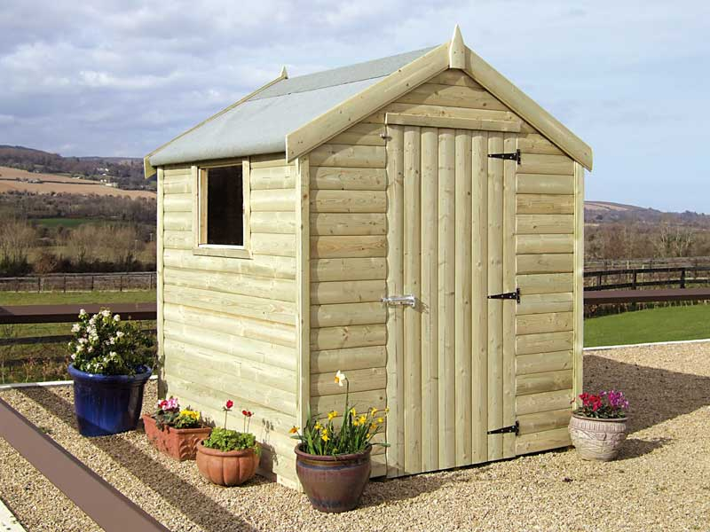 Standard Timber Shed