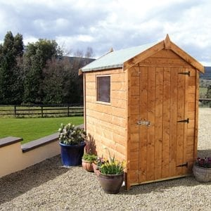 6x4 Economy Timber Shed
