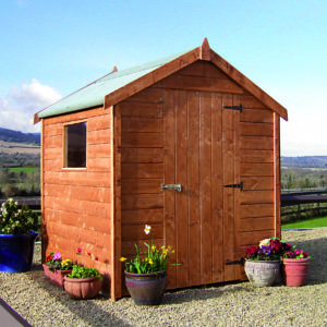 8 x 6 economy Timber Shed
