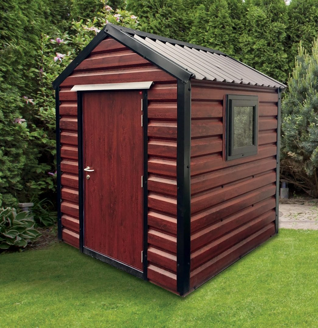 Rosewood Steel Shed