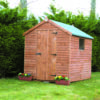 8 by 6 Rustic Shed