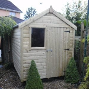 Pressure Treated Timber Shed