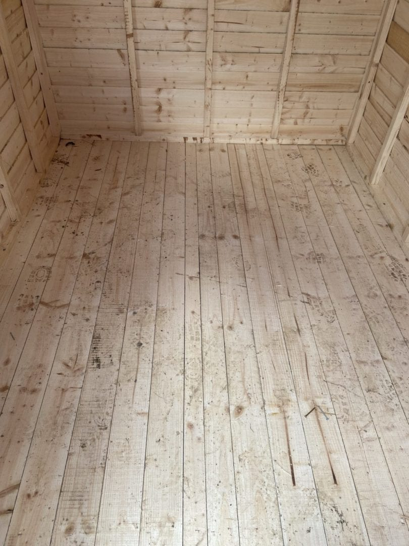 Economy Timber Garden Shed